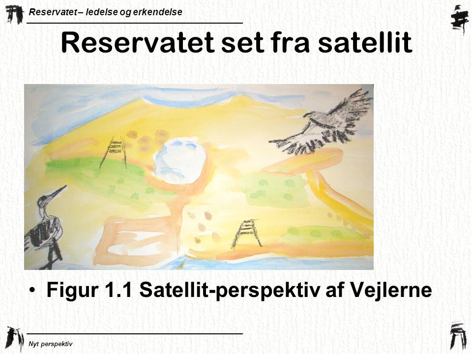 Reservatet set fra satellit
