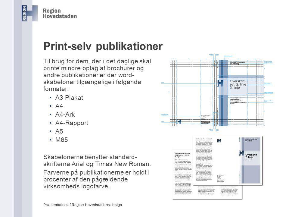 Print-selv publikationer