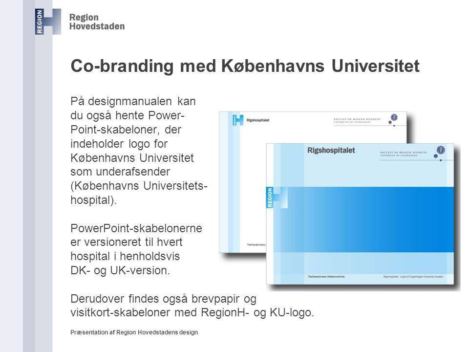 Co-branding med Københavns Universitet