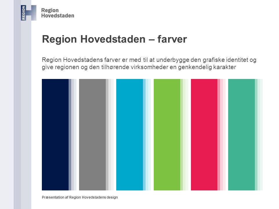 Region Hovedstaden – farver
