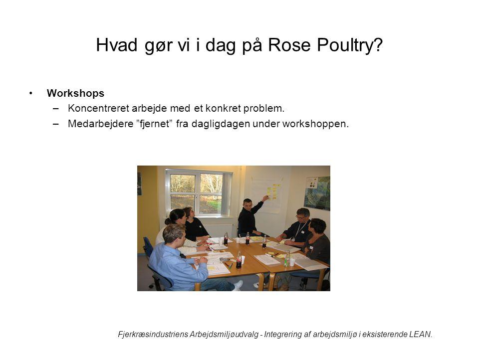 Hvad gør vi i dag på Rose Poultry