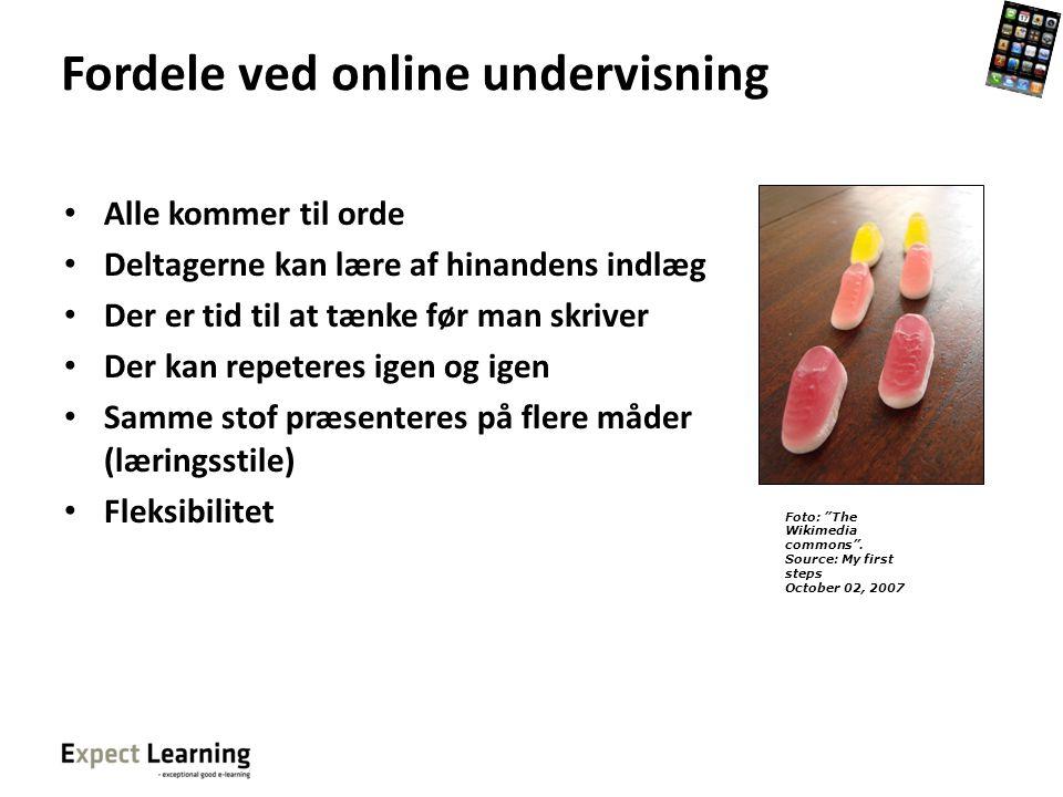 Fordele ved online undervisning