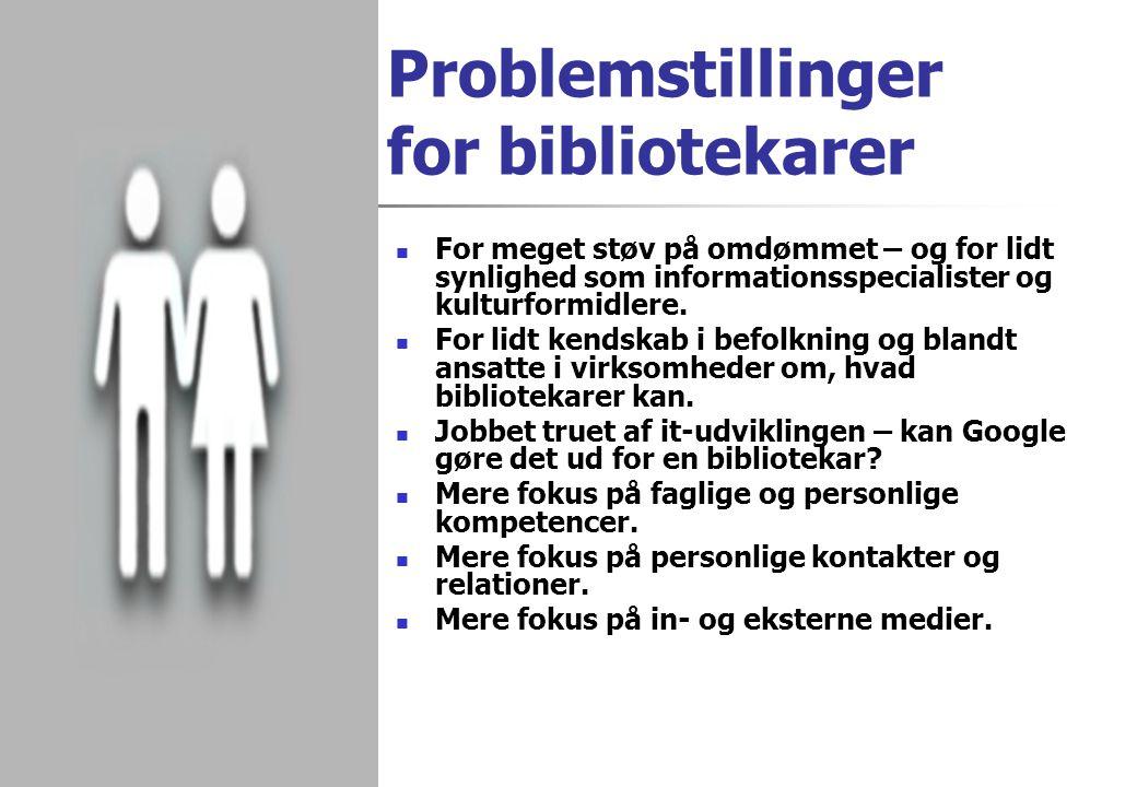 Problemstillinger for bibliotekarer