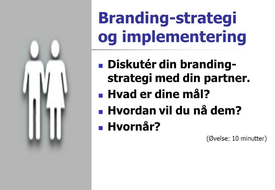 Branding-strategi og implementering
