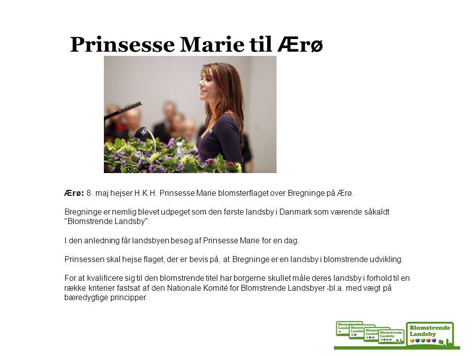 Prinsesse Marie til Ærø