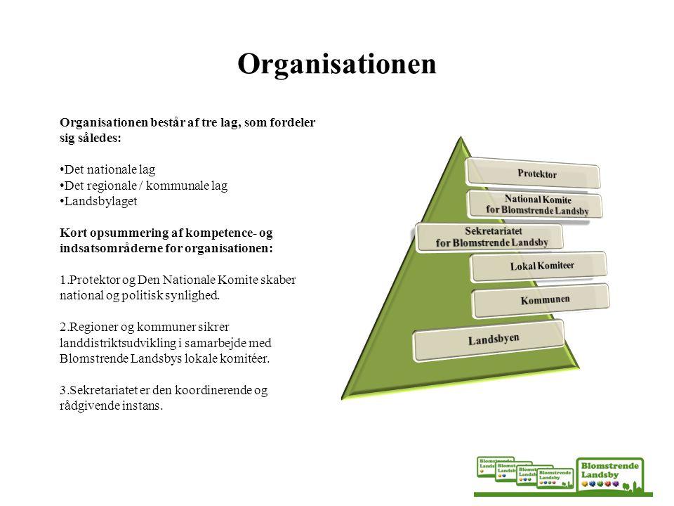 Organisationen Protektor National Komite for Blomstrende Landsby