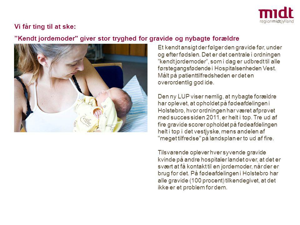 Kendt jordemoder giver stor tryghed for gravide og nybagte forældre