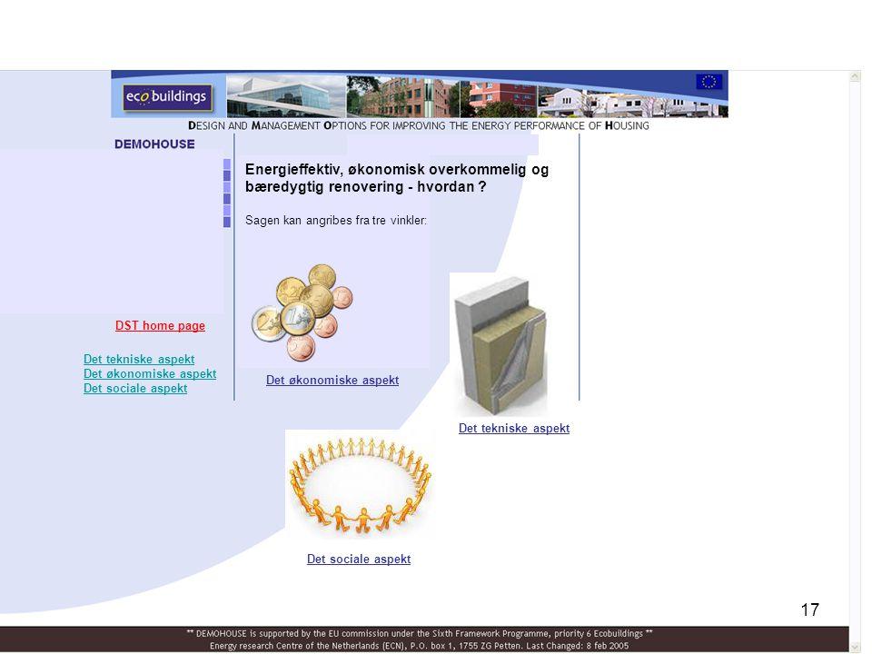 Energieffektiv, økonomisk overkommelig og bæredygtig renovering - hvordan