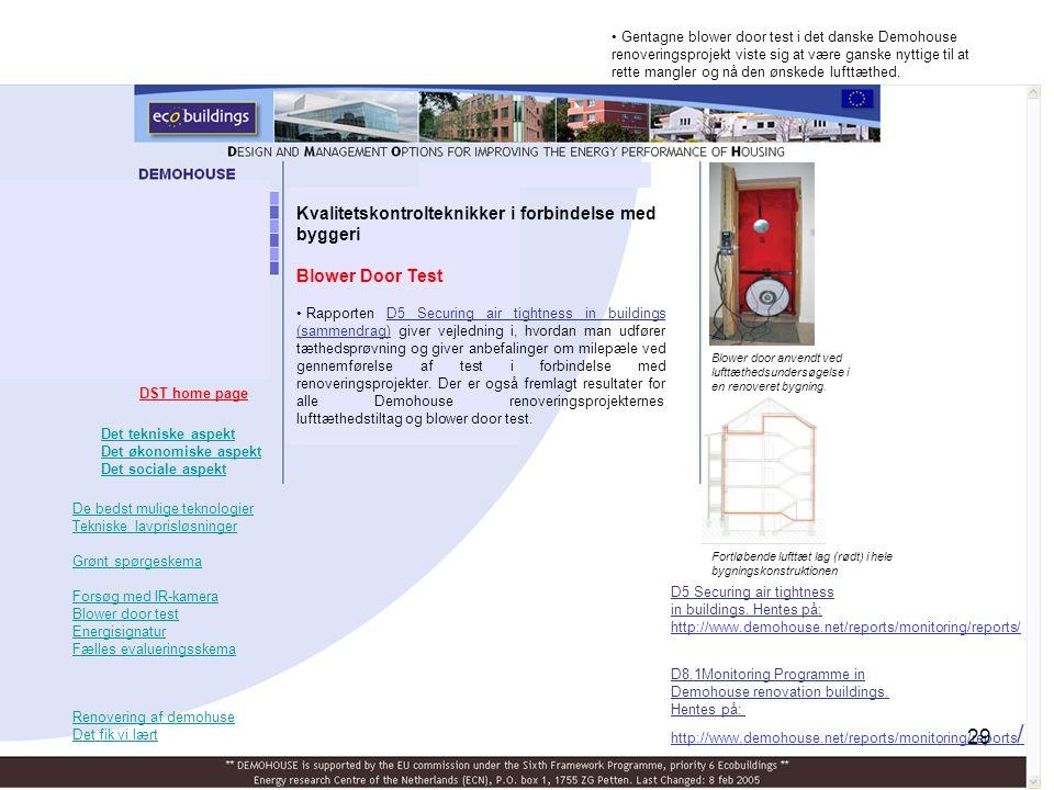Kvalitetskontrolteknikker i forbindelse med byggeri