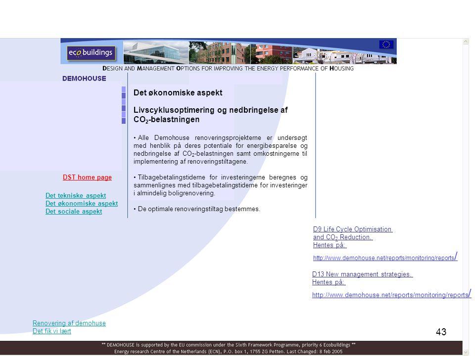 Livscyklusoptimering og nedbringelse af CO2-belastningen
