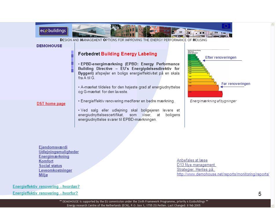 Forbedret Building Energy Labeling