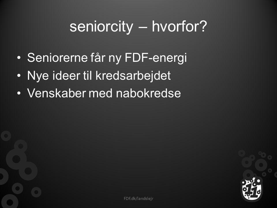 seniorcity – hvorfor Seniorerne får ny FDF-energi