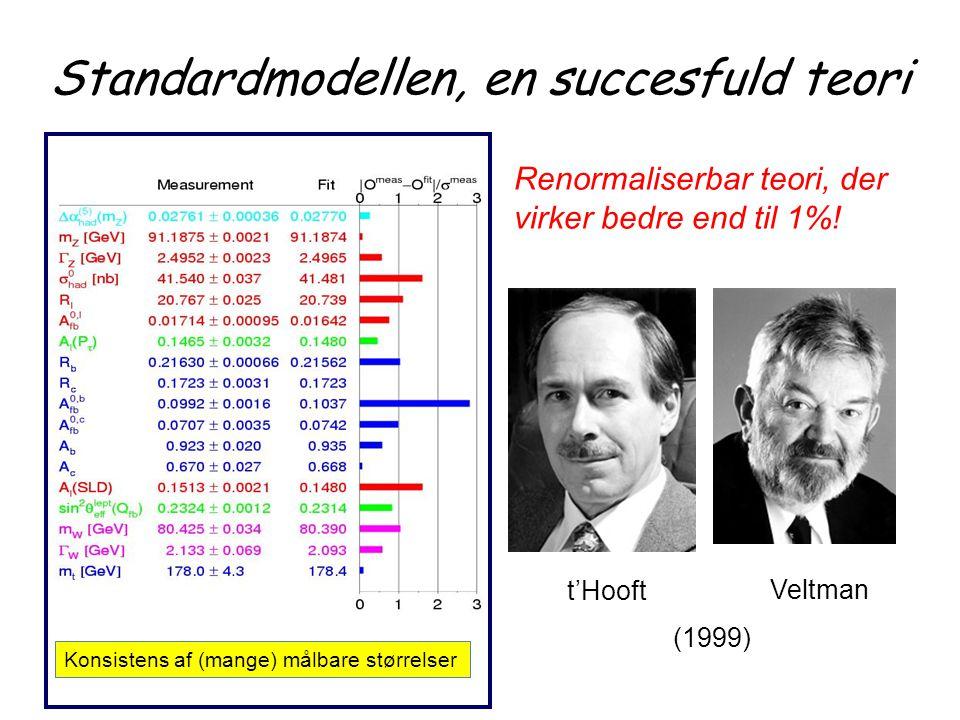 Standardmodellen, en succesfuld teori