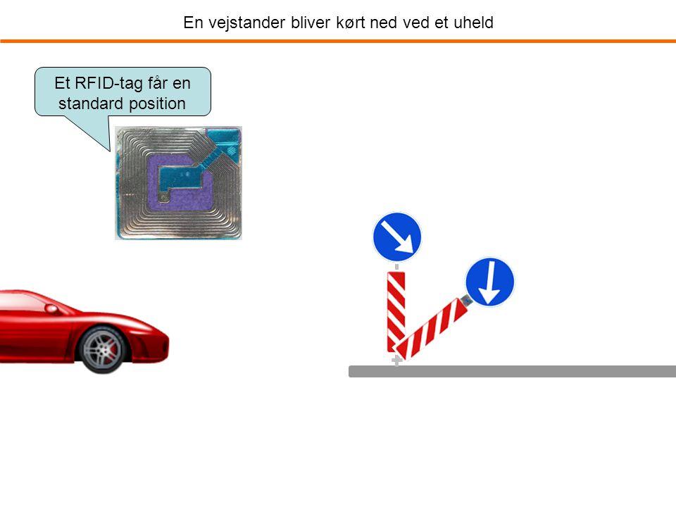 En vejstander bliver kørt ned ved et uheld