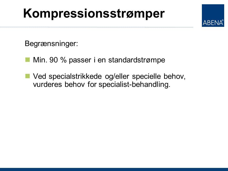 Kompressionsstrømper