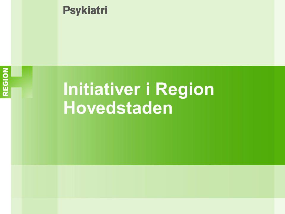Initiativer i Region Hovedstaden