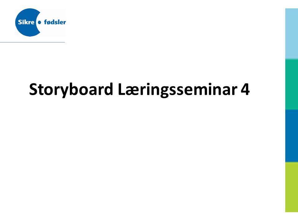 Storyboard Læringsseminar 4