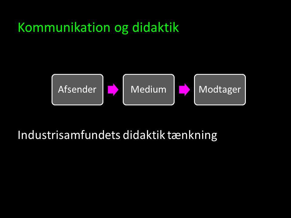 Kommunikation og didaktik
