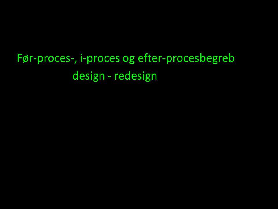 Før-proces-, i-proces og efter-procesbegreb