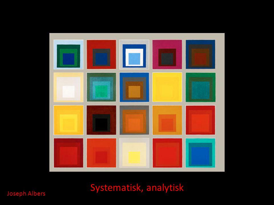 Systematisk, analytisk