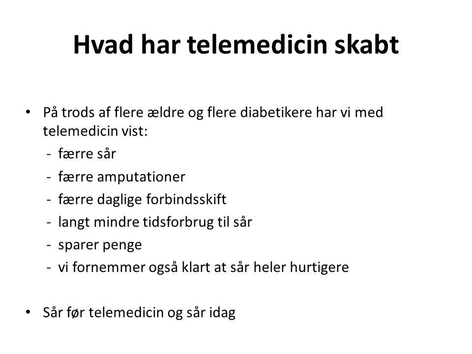 Hvad har telemedicin skabt