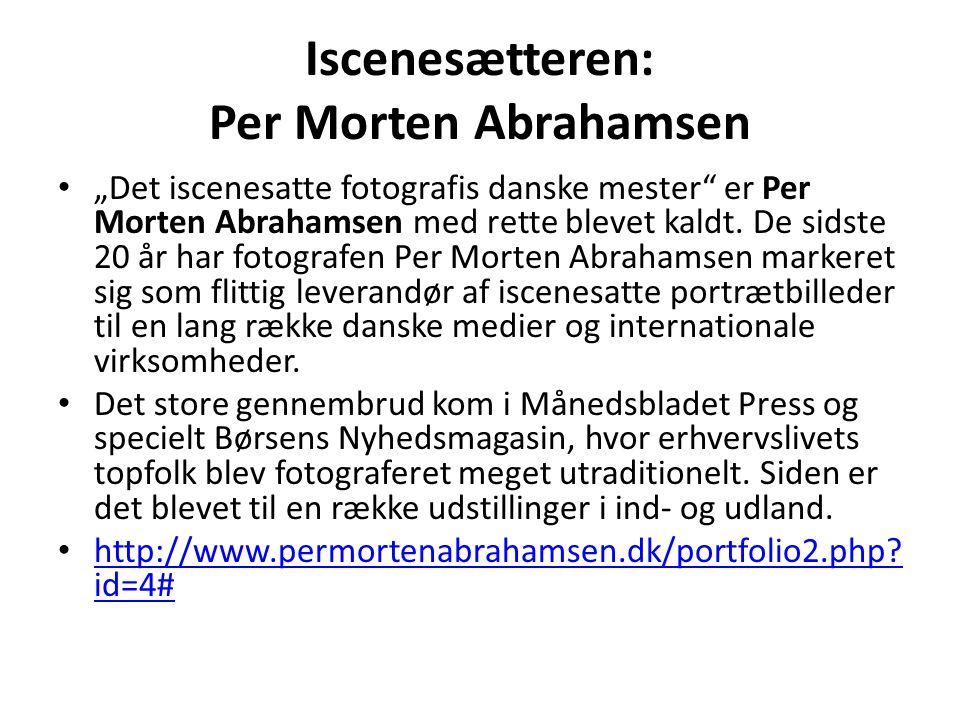 Iscenesætteren: Per Morten Abrahamsen