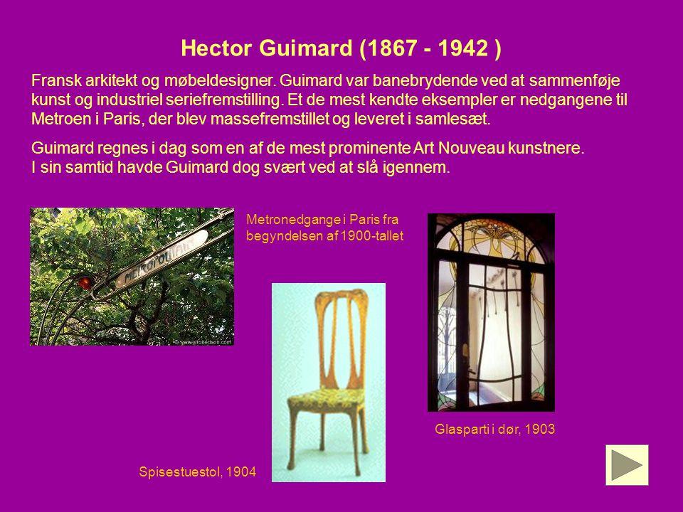 Hector Guimard (1867 - 1942 )