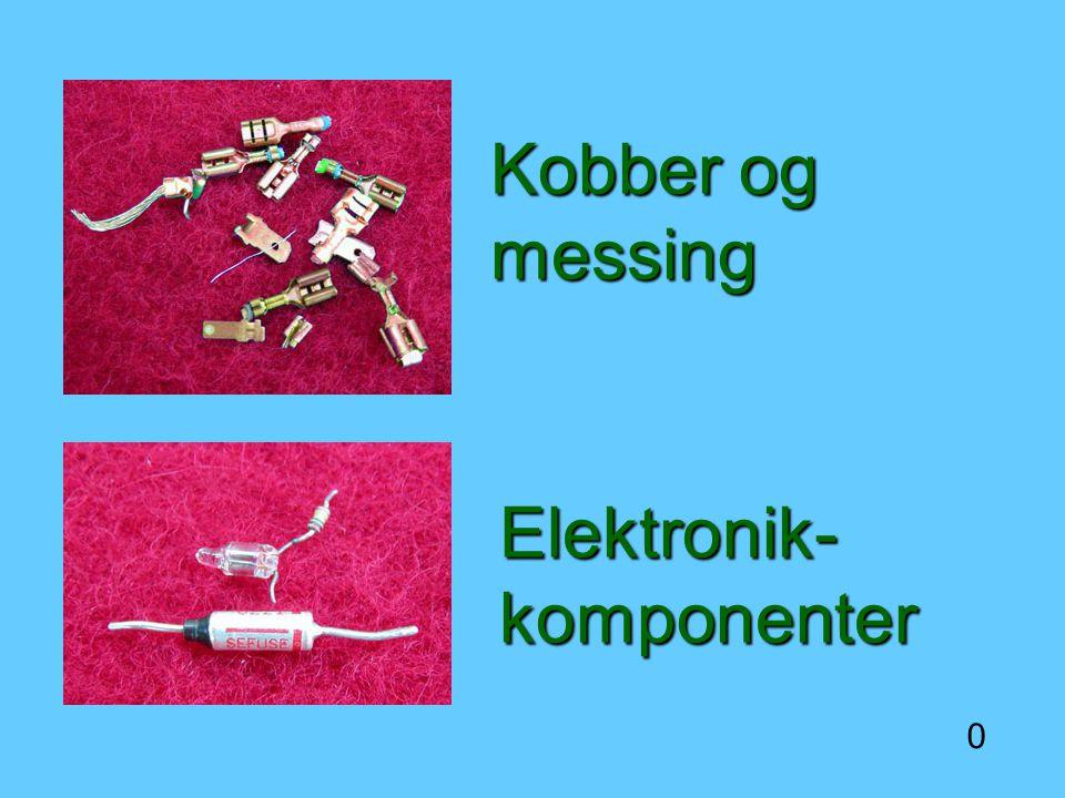 Kobber og messing Elektronik-komponenter