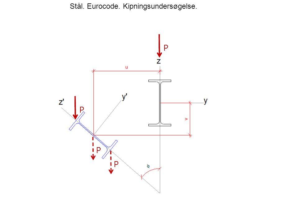 Stål. Eurocode. Kipningsundersøgelse.