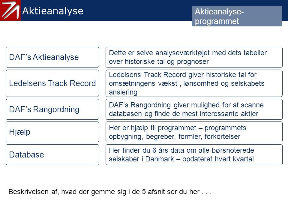 2. Aktieanalyseprogrammet - 3
