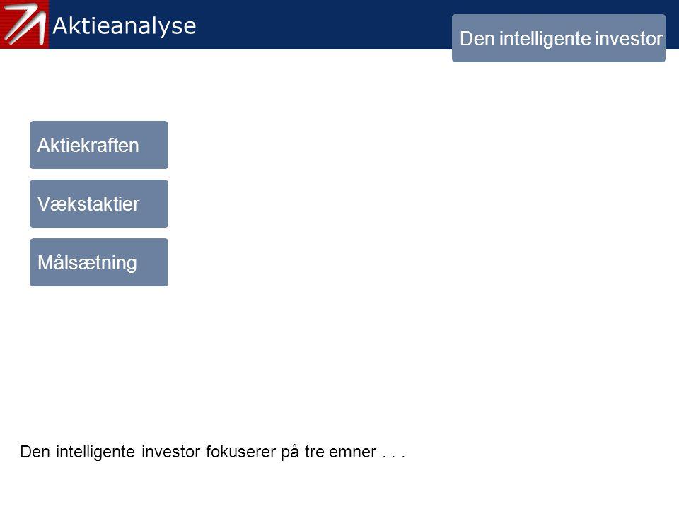 1. Den intelligente investor - menu