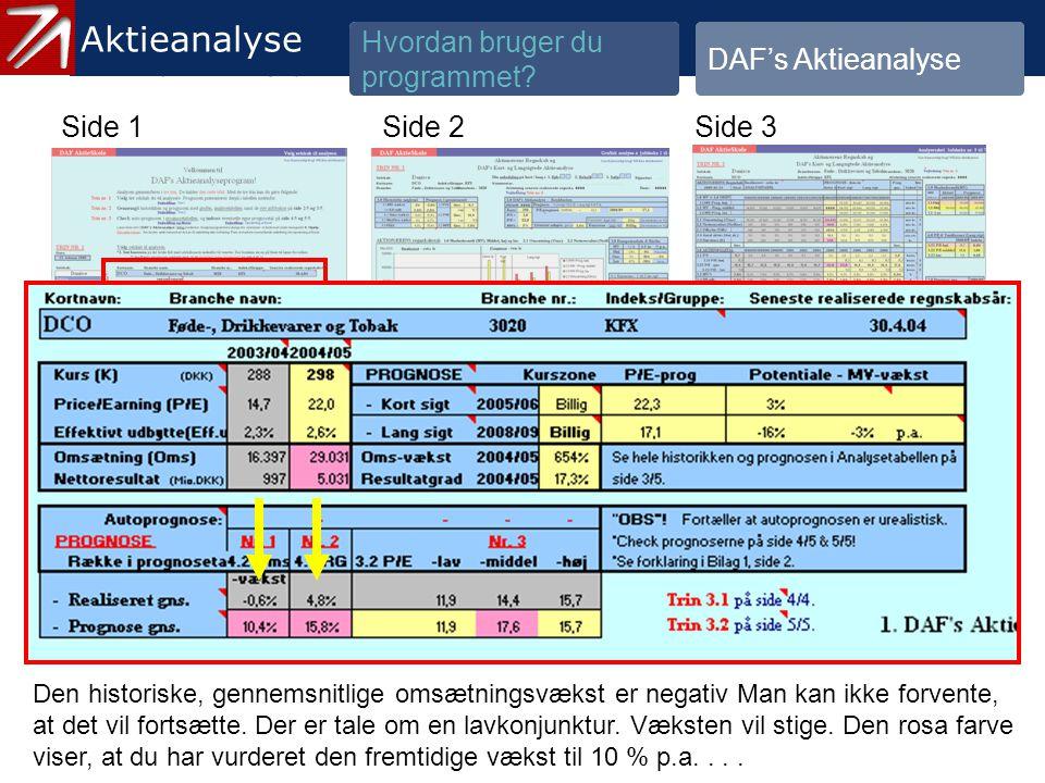 3.1.2 Gennemgå historik og prognose - 7