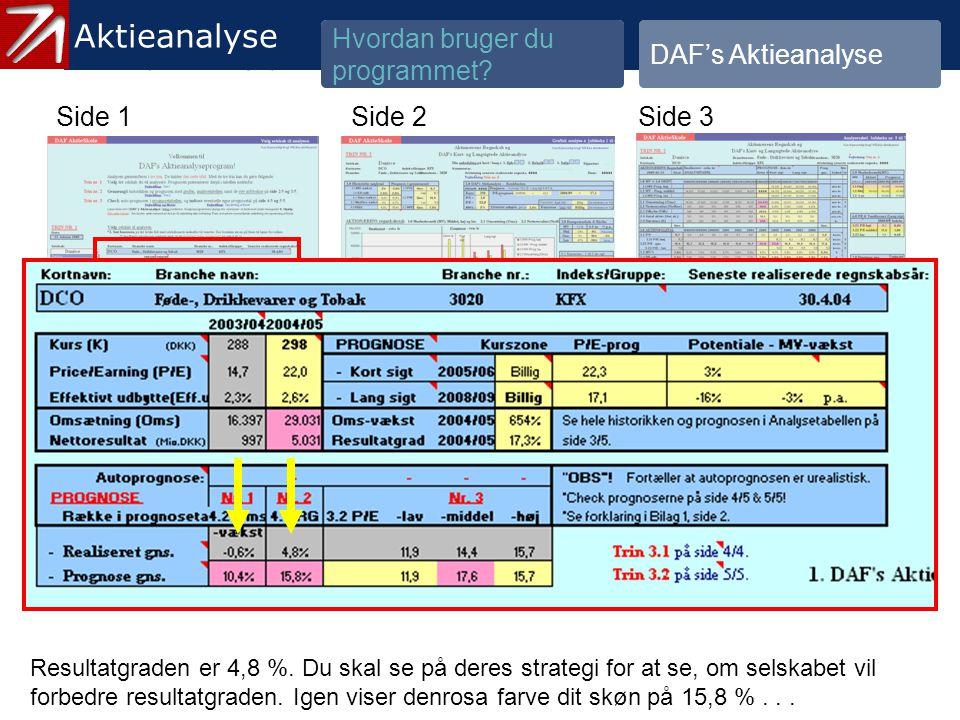 3.1.2 Gennemgå historik og prognose - 8