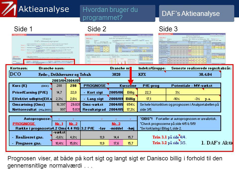 3.1.2 Gennemgå historik og prognose - 10