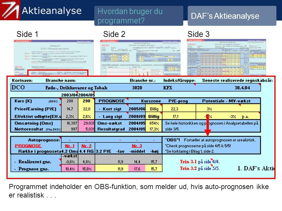 3.1.2 Gennemgå historik og prognose - 13