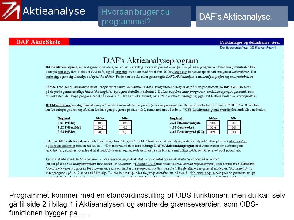 3.1.2 Gennemgå historik og prognose - 14