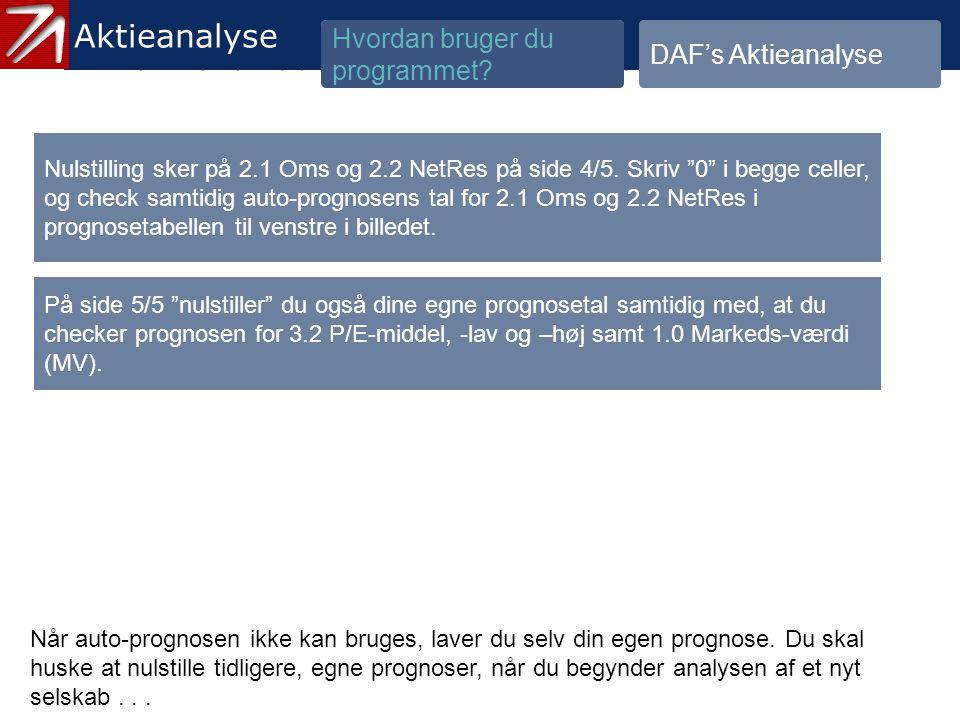 3.1.3 Check prognose – indtast selv tal - 5