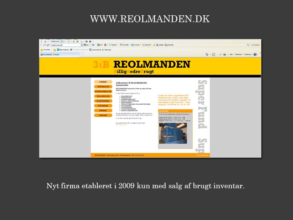 WWW.REOLMANDEN.DK lager mødelokaler lager lager/forsendelse kontor