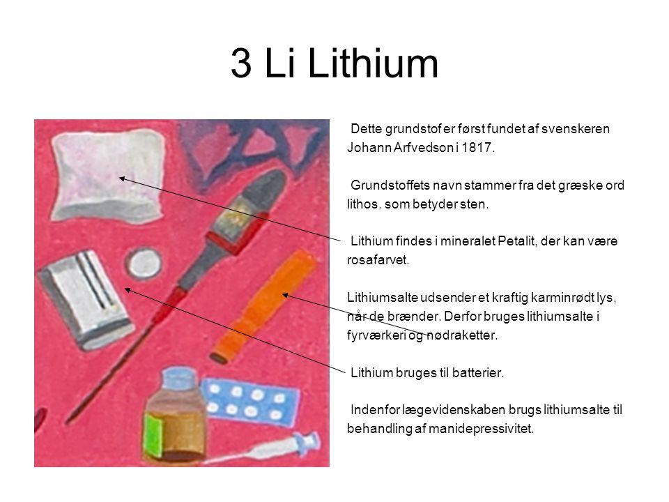 hvad bruges lithium til