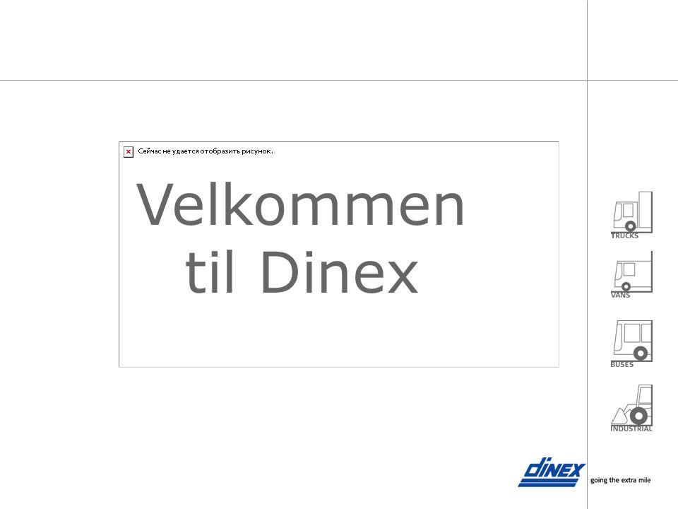 Velkommen til Dinex