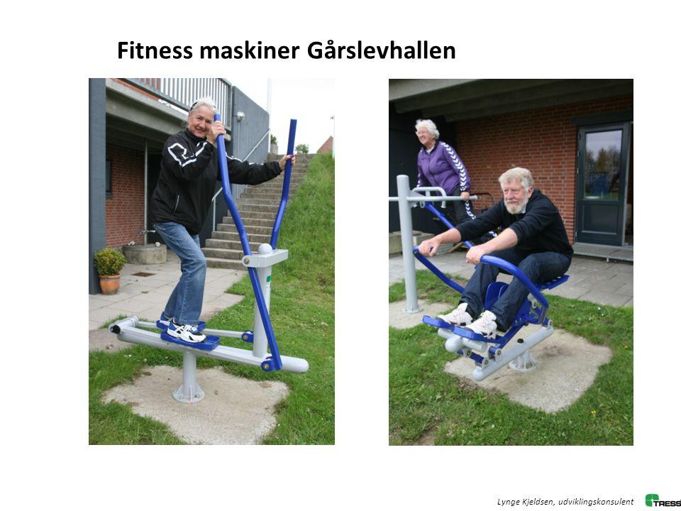 Fitness maskiner Gårslevhallen