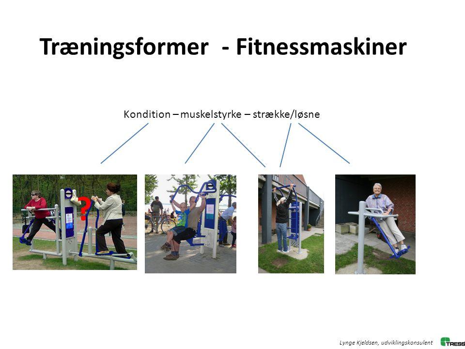 Træningsformer - Fitnessmaskiner