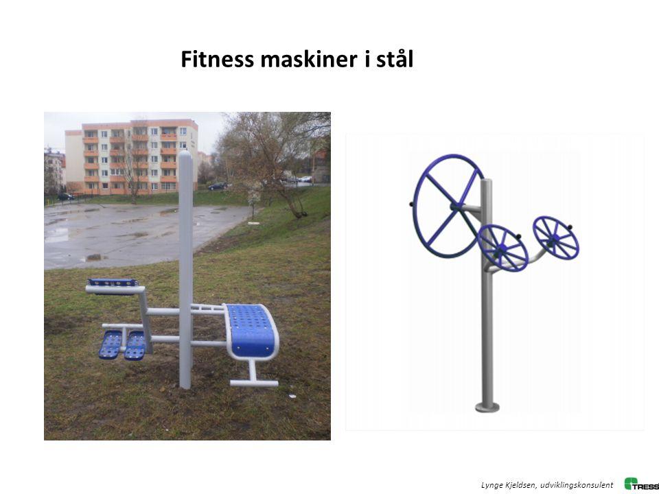 Fitness maskiner i stål