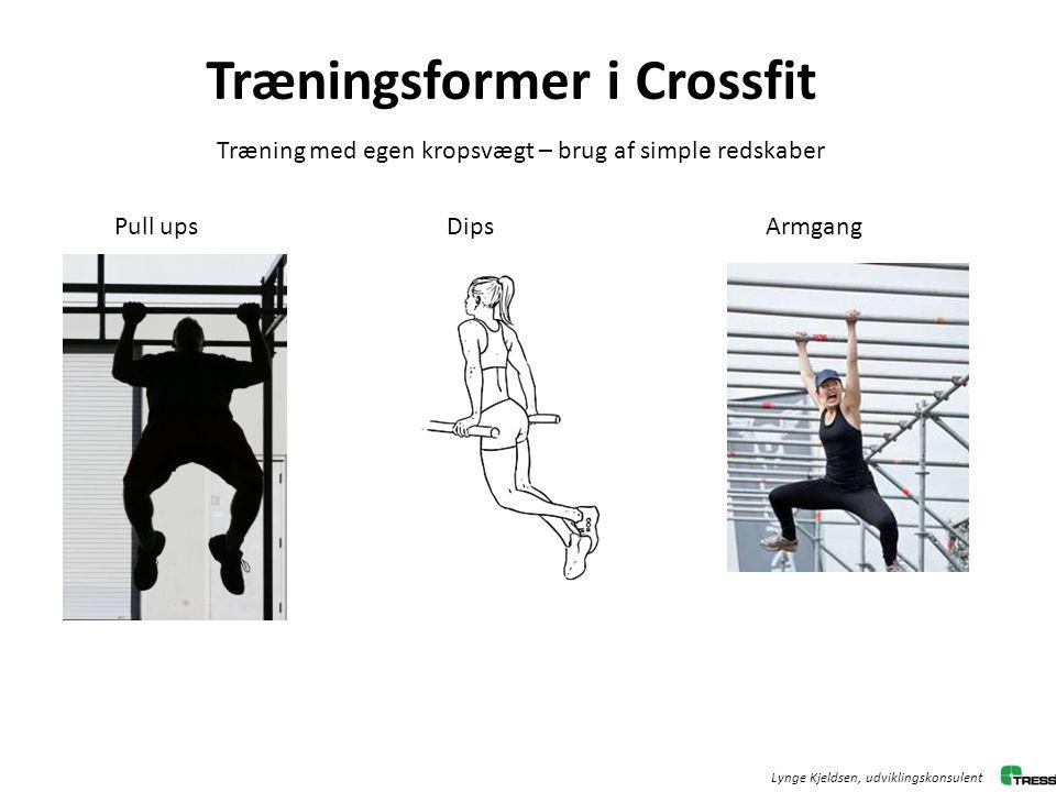 Træningsformer i Crossfit
