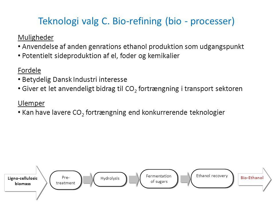 Ligno-cellulosic biomass