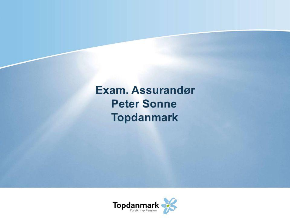 Exam. Assurandør Peter Sonne