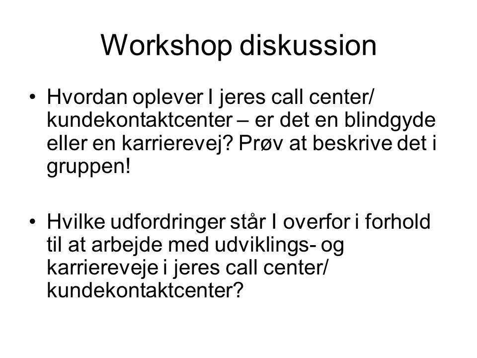 Workshop diskussion