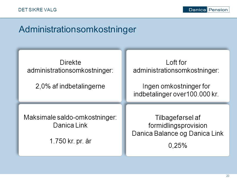 Administrationsomkostninger