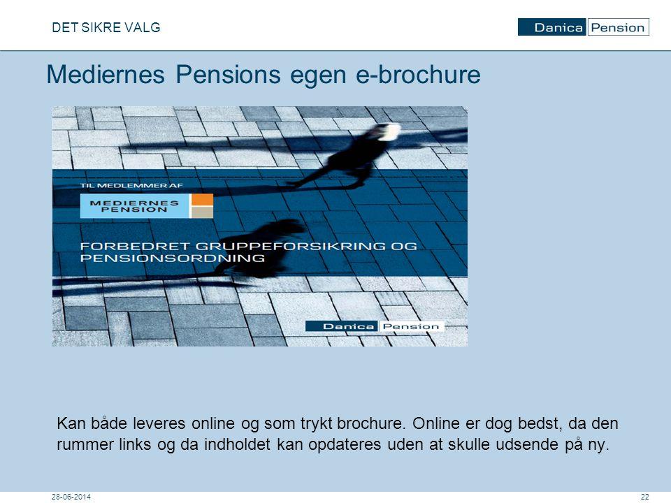 Mediernes Pensions egen e-brochure