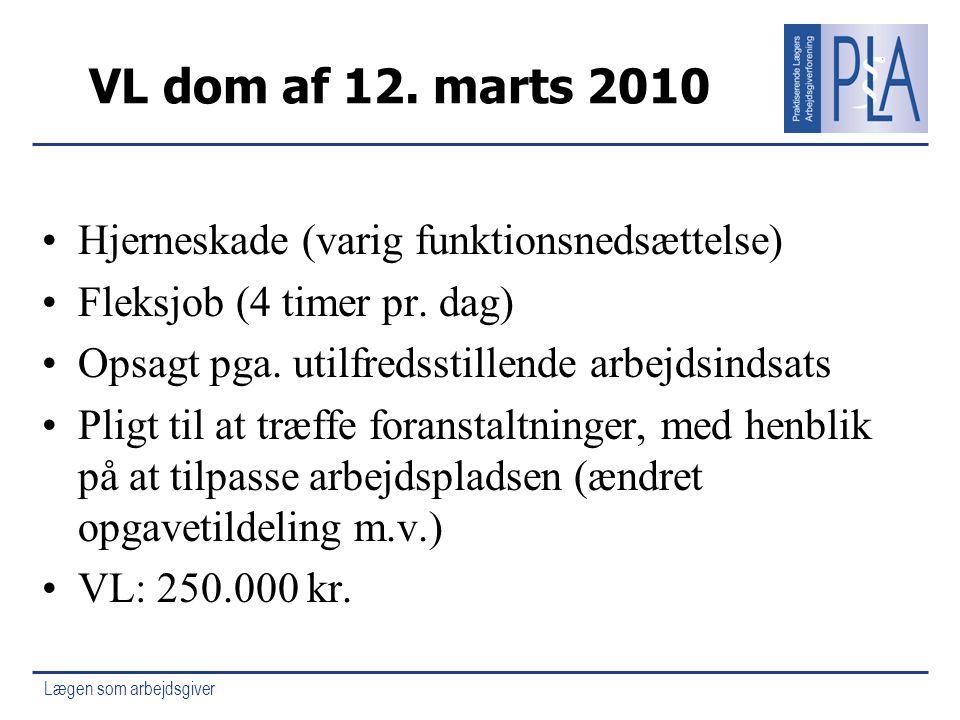 VL dom af 12. marts 2010 Hjerneskade (varig funktionsnedsættelse)